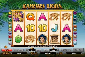Симулятор Ramesses Riches