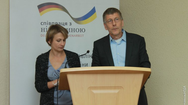 Штефан Дрегер. Фото пресс-службы Полтавской ОГА