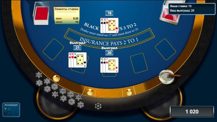 ограничение ставки в казино