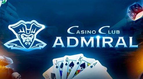 Казино для удачной игры: клуб Admiral Casino 777